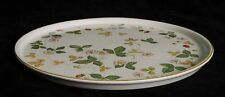Wedgwood Wild Strawberry Pattern Round Ceramic Tray