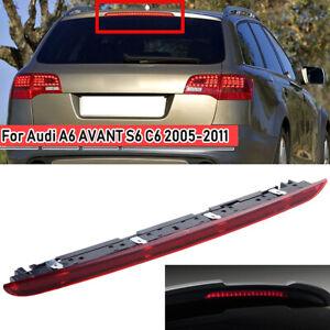 RED HIGH LEVEL BRAKE LIGHT REAR STOP LAMP For Audi A6 AVANT S6 C6 2005-2011