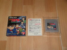 DETECTIVE CONAN BY BANDAI FOR NINTENDO GAME BOY GB MADE IN JAPAN USED COMPLETE