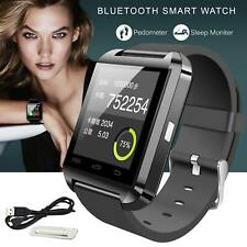 Bluetooth Smart Wrist Watch Phone Mate Band Fit For Android iOS iPhone Sports