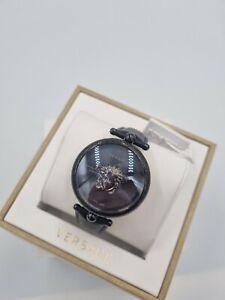 VERSACE Palazzo Luxury Black Dial Ladies Watch VCO050017 Swiss Made 1Yr Warranty