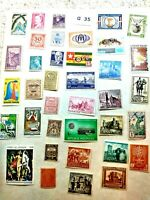 Mint Worldwide stamps lot # G 35 Togo, Germany, Spain, Greenland, Reunion, etc.
