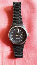 Porsche Design by Orfina automatic vintage lady's watch black steel w/bracelet