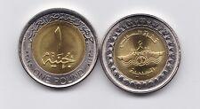 EGYPT  EGIPTO  2015  ONE POUND  BIMETALICA  UNC