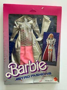 NRFB 1985 Superstar Barbie ASTRO FASHIONS #2742 GALAZY A GO GO - SILVER & PINK