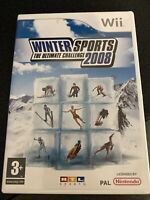 Winter Sports The Ultimate Challenge 2008 (Wii) - Game  7UVG The Cheap Fast Free