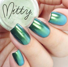 Mirror Chrome Powder AMAZING SHINE 3g by Mitty - Green Menace
