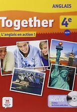 """MP029 EMDL """"Together"""" Manuel avec DVD 4e Palier 2 A2/B1"""