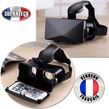 Casque de Réalité Virtuelle Augmentée Universelle Noir VR pour Smarpthone