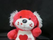 FUN WORLD PINK TEDDY BEAR RED HEART ON TUMMY PLUSH STUFFED ANIMAL MADE IN TAIWAN