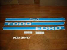 Ford 1310 tractor hood decal set