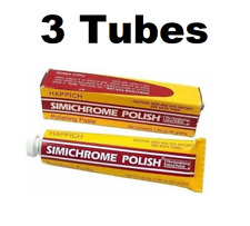 Simichrome TUBE-50G Outshining Metal Polish 1.76 oz Prevents Tarnishing 3 PACK
