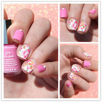 Nail Art Water Decals Transfers Stickers Wraps Pretty Pastel Summer Flowers