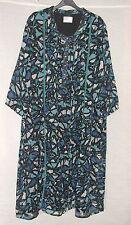 NEW Gorgeous Ulla Popken Calf Length 3/4 Sleeve Dress Plus Size 24/26