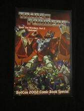 Botcon 2002 Enter the Wreckers Part 2 Betrayal Transformers Rare Convention