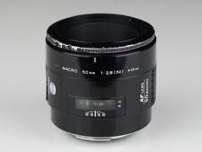 MINOLTA macro 2.8/50 red AF SONY A mount lens