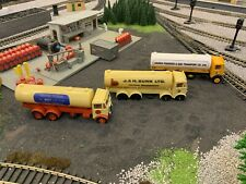 3 AEC MAMMOTH TANKER TRUCKS Liquid gas/fertiliser/flour/00 Gauge