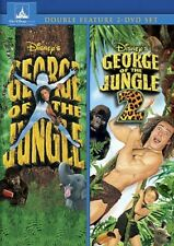George of the Jungle 1 and 2 [New DVD]