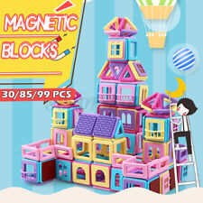 Us Kids Magnetic Stacker Building Blocks Construction Set Model Educational Toys