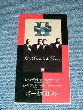 "BOYS II MEN Japan Only 1994 PROMO Tall 3"" CD Single ON BENDED KNEE"