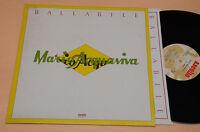MARIO ACQUAVIVA LP ITALY PROG 1°ST ORIG GIGI VENEGONI, PUPI AVATI AL CLARINO NM