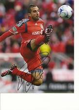 DWAYNE DE ROSARIO SIGNED 8X10 TORONTO FC PHOTO