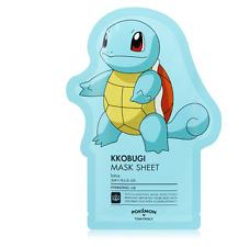 [Tony Moly] Pokemon Kkobugi Facial Masks Sheet Pack Korean Squirtle 1ea_01