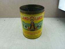 Ancienne boite publicitaire de lait entier en poudre, Land O' Lakes