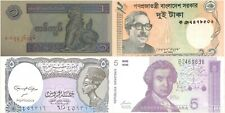 Egypt Burma Croatia Bangladesh - Uncirculated Banknote Paper Money - MX4NW1