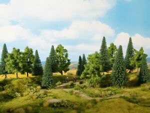 HO Scale Model Scenery - 24621 - Mixed forest
