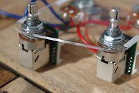 Epiphone Les Paul Pro Wiring Harness Coil Split - Push/Pull Alpha Pots OEM!