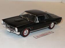 Welly Vintage 65 Pontiac Gto 389 Tri Power 1:24 Rare Gloss Black Free Ship