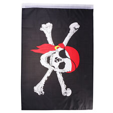 2''x3'' Pirate Skull Red Bandana Flag 60x90cm Banner for Rugby Football Game
