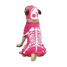 Casual Canine Blow Bones Dog Costume in Hot Pink, Size Large