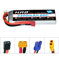 HRB 3S 11.1V 3300mAh 60C 120C LiPo Battery for RC FPV Airplane Drone Car Truck