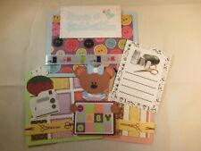MEMORIES ARE STITCHED WITH LOVE  3D PAPER PIECING  SCRAPBOOK PAGE MAT SET