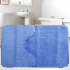 Tapis de bain bleu pour cuisine