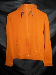 Arc'teryx S Mens Orange Witness Hoody Sweatshirt Full Zip Hoodie Arcteryx Pocket