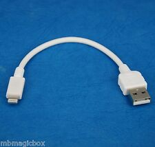 """4"""" 10cm Quick Charger Charging ONLY USB cable WHITE for iPad Pro Air 2 4 mini 3"""