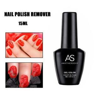15ml Gel Nail Polish Fast Remover Soak Off Unloading Nail Oil Nail Art