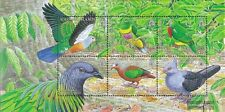 Salomon Islands Block91 mint never hinged mnh 2005 Locals Birds