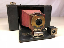 RARE Antique Old Vtg TBI Brownie Eastman Kodak Red Belo Style Folding Camera