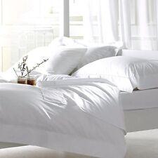 Organic Cotton Queen Size Bed Soft Sheet Set - White Color|Organic Textile