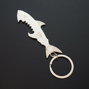 Vintage shark fish narwhale bottle opener cork screw East German whimsical quirky SALE