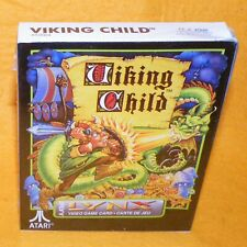 Vintage 1991 Atari Lynx Handheld Viking Child Video Game Card Boxed