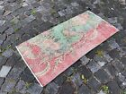 Carpet, Doormats, Small rug, Vintage handmade rug, Wool rug | 1,6 x 3,4 ft