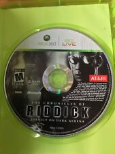 The Chronicles Of Riddick Assault On Dark Athena Xbox 360 Ntsc Case & Disc