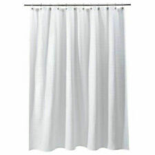 Room Essentials White Waffle Weave Shower Curtain 72 X 72 Inches