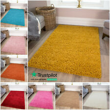Cosy Bedside Bedroom Floor Shaggy Shag Rugs Fluffy Thick Warm Deep Area Rug