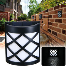 Waterproof 6LED beads Solar Lights Motion Sensor Wall Light Outdoor Garden Yard